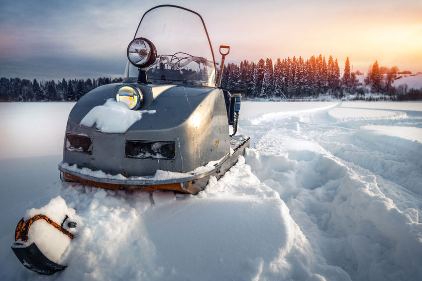 Experience the Fun of Vintage Snowmobiles