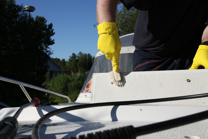 Cleaning Your Boat's Interior - The Short Version