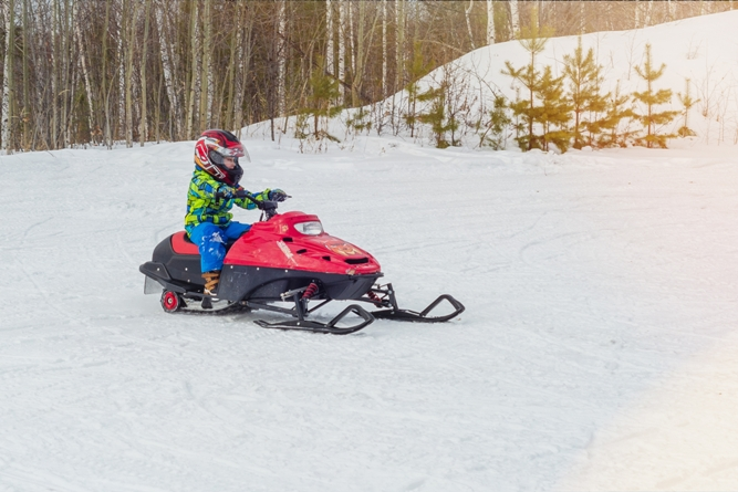 Tips for Getting Kids Involved in Snowmobiling
