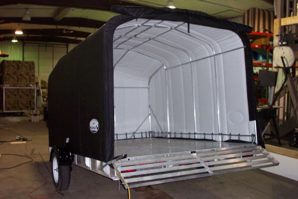 SnoCaps Trailer Enclosures - The advantage of being repairable