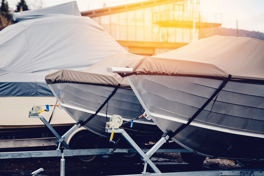 Proper care and storage of your new boat cover.
