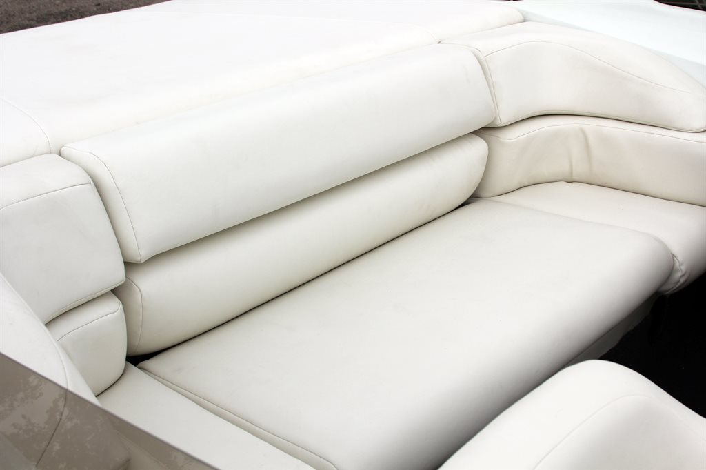 Why is my Boat's Upholstery Turning Pink?