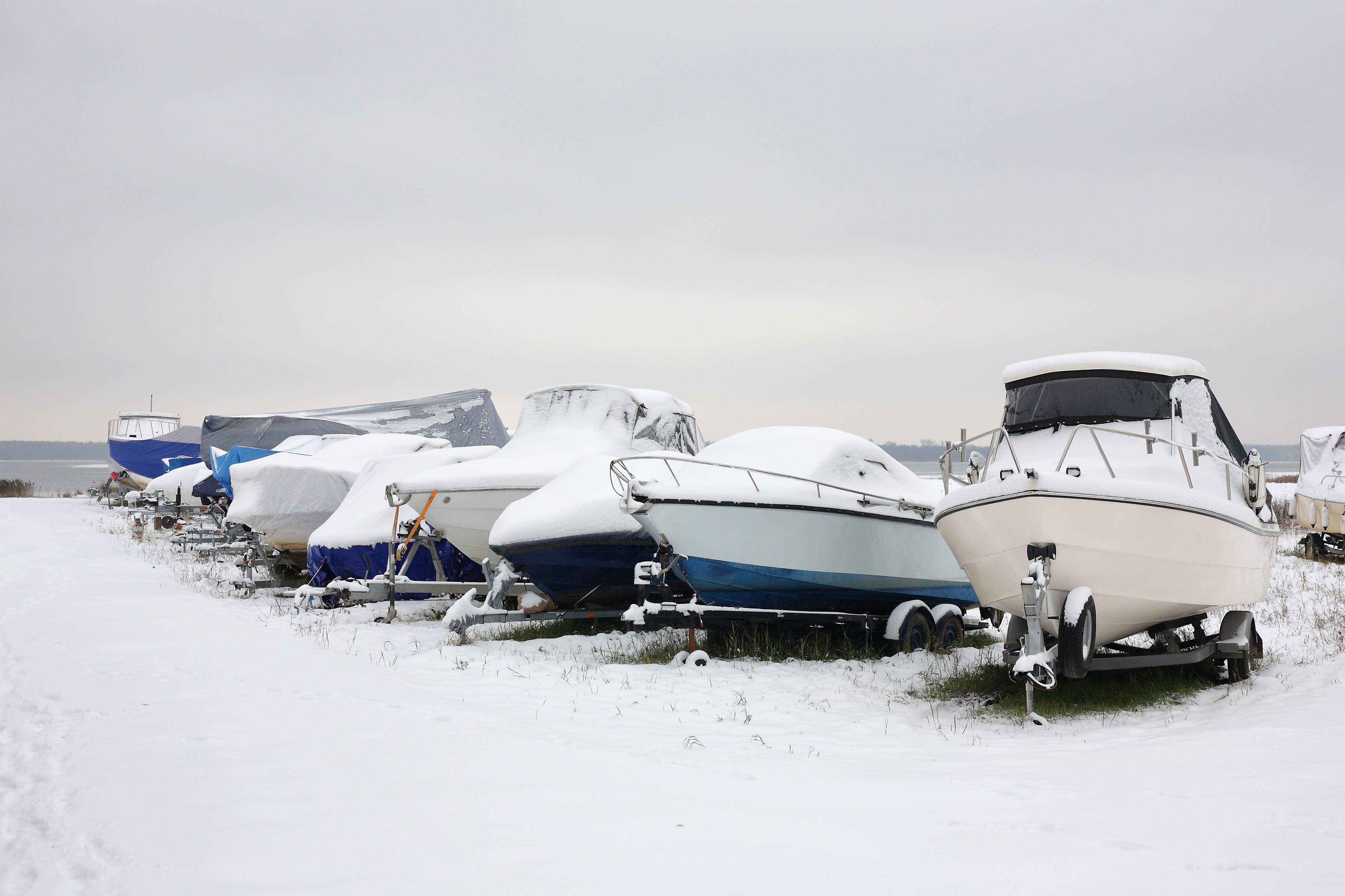 Common Mistakes Made When Storing Your Boat for the Winter