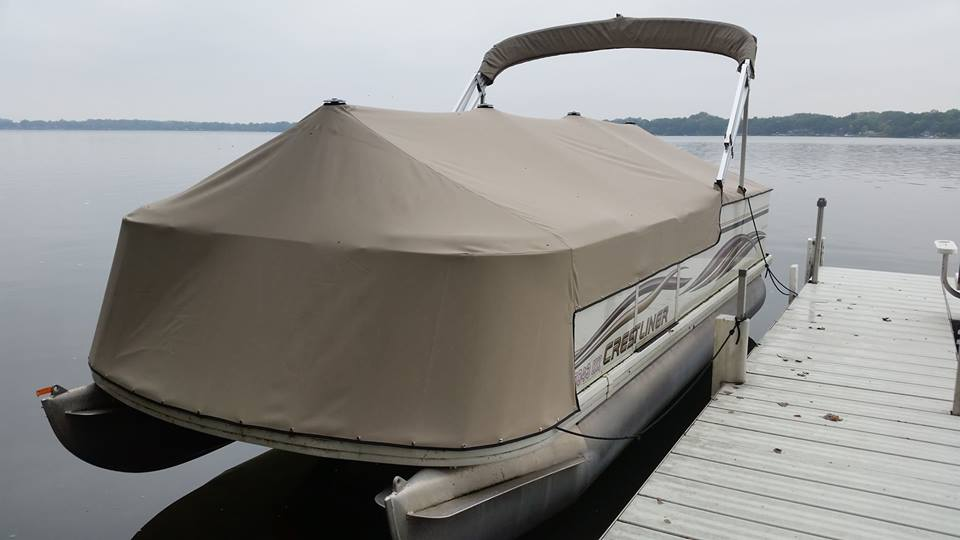 Canvas Talk: How to Clean and Care for Your New Boat Cover