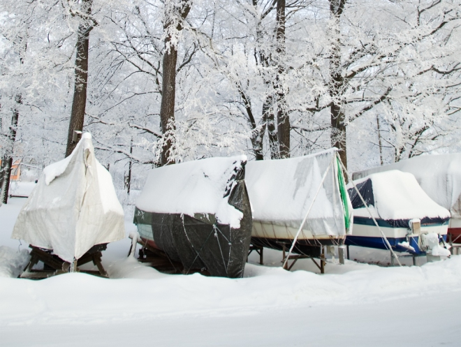How to Store Your Boat Safely Over The Winter