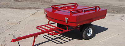 custom aluminum fabricated towable