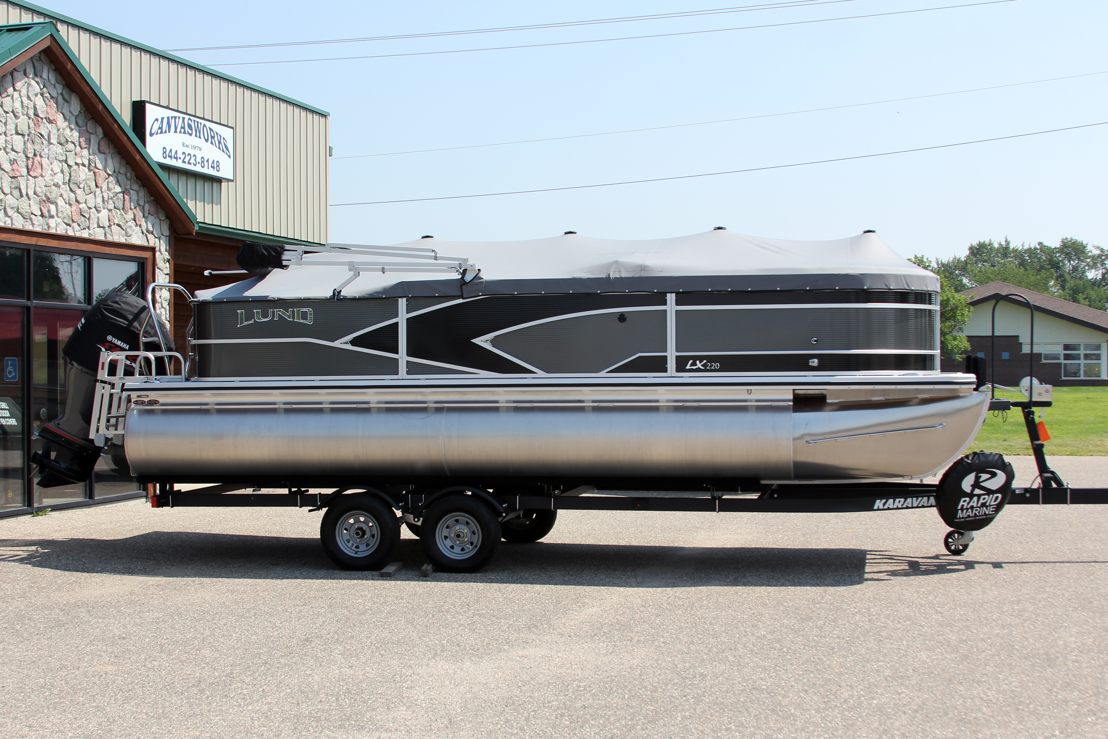 Pontoon Boat Travel Cover